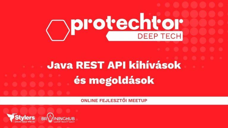 DT JAVA REST API web